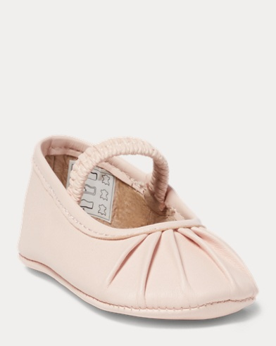 Lambskin Pleated Slipper