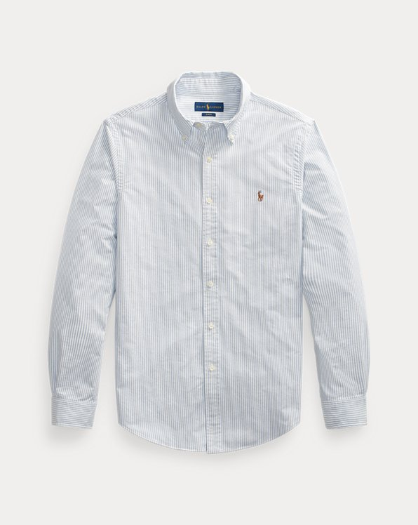 Camisa Oxford a rayas Slim-Fit