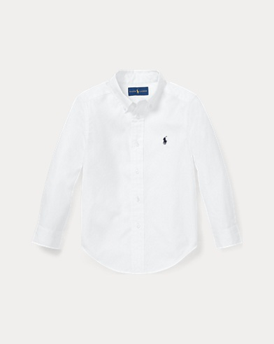 Custom-Fit Oxford Shirt
