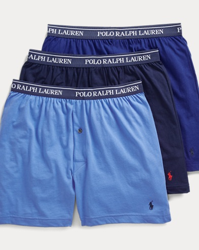 Boxer Briefs for Men, Boxers On Sale, Red, Cotton, 2017, S (EU 3) M (EU 4) Ralph Lauren