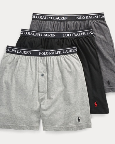 Knit Boxer 3-Pack