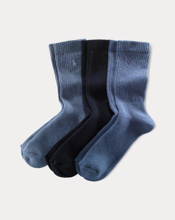 3er-Pack Crew-Socken