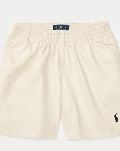 Cotton Pull-On Chino Short