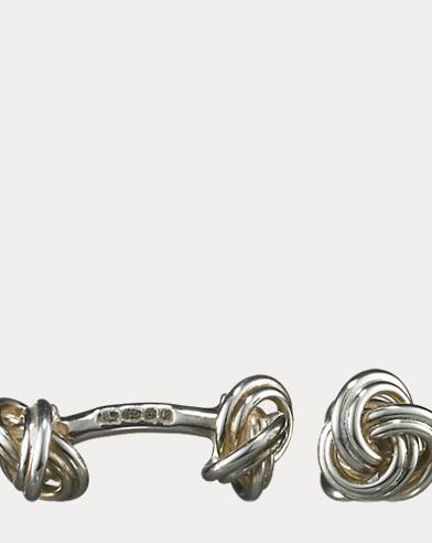 Knot-on-Bar Cuff Links