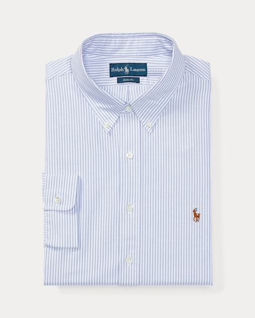 5c723d48a9 Bengal-Striped Oxford | Standard Fit Dress Shirts | Ralph Lauren