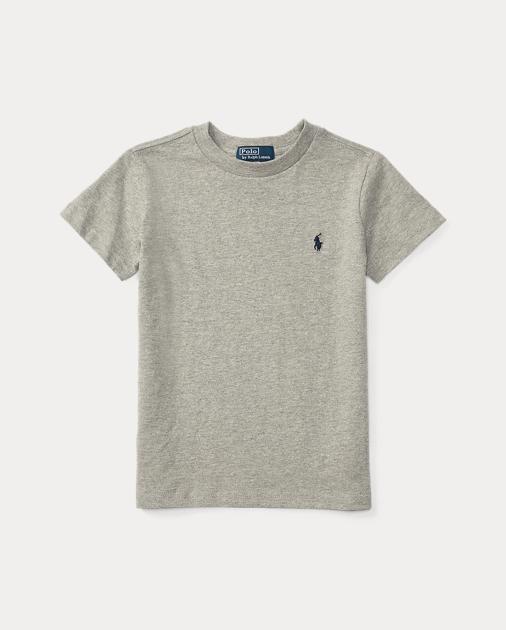 5d4f07d88 Cotton Jersey Crewneck T-Shirt   Tees Tees & Sweatshirts   Ralph Lauren