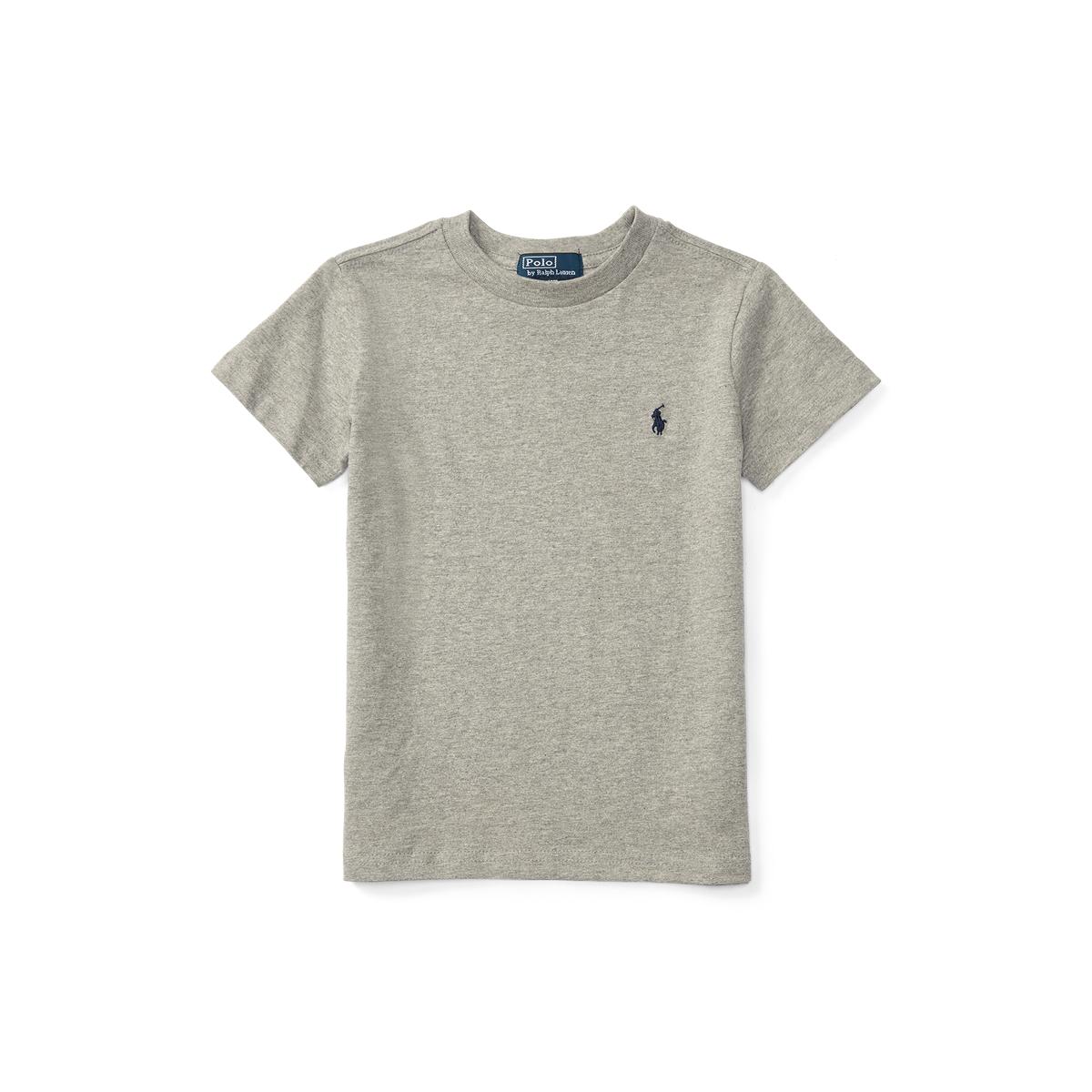 23e77d0a1 Cotton Jersey Crewneck T-Shirt