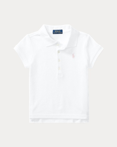 fbf475c1 Girls' Polo Shirts - Long & Short Sleeve Polos | Ralph Lauren