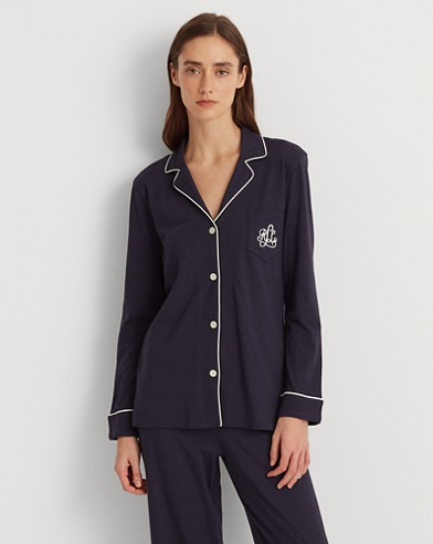 c83b2be886 Cotton Jersey Pajama Set. color (3)  Windsor Navy ...