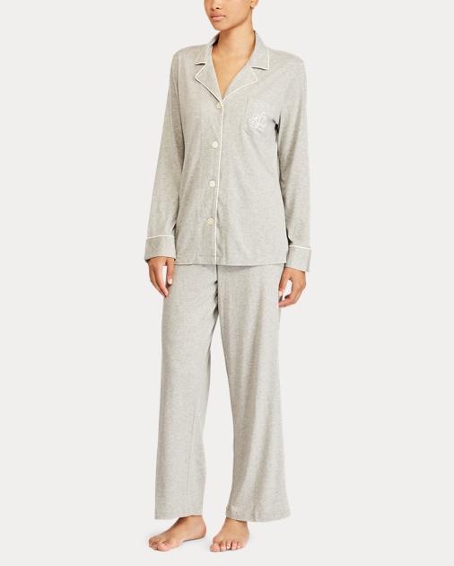 2cfa0bf4aa produt-image-1.0. produt-image-2.0. produt-image-3.0. Women Clothing  Sleepwear   Loungewear Sleepwear Cotton Jersey Pajama Set. Lauren