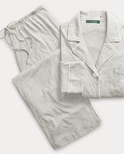 6df3f3e9cc Lauren Cotton Jersey Pajama Set 1