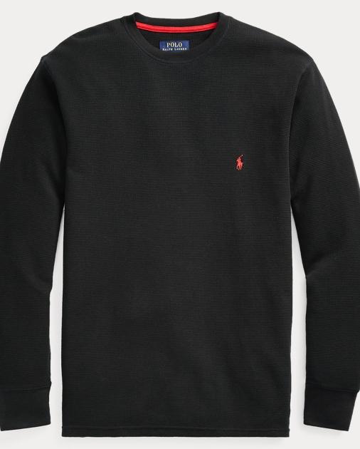 800ee432 Waffle-Knit Crewneck Thermal | Sleepwear & Robes Underwear ...