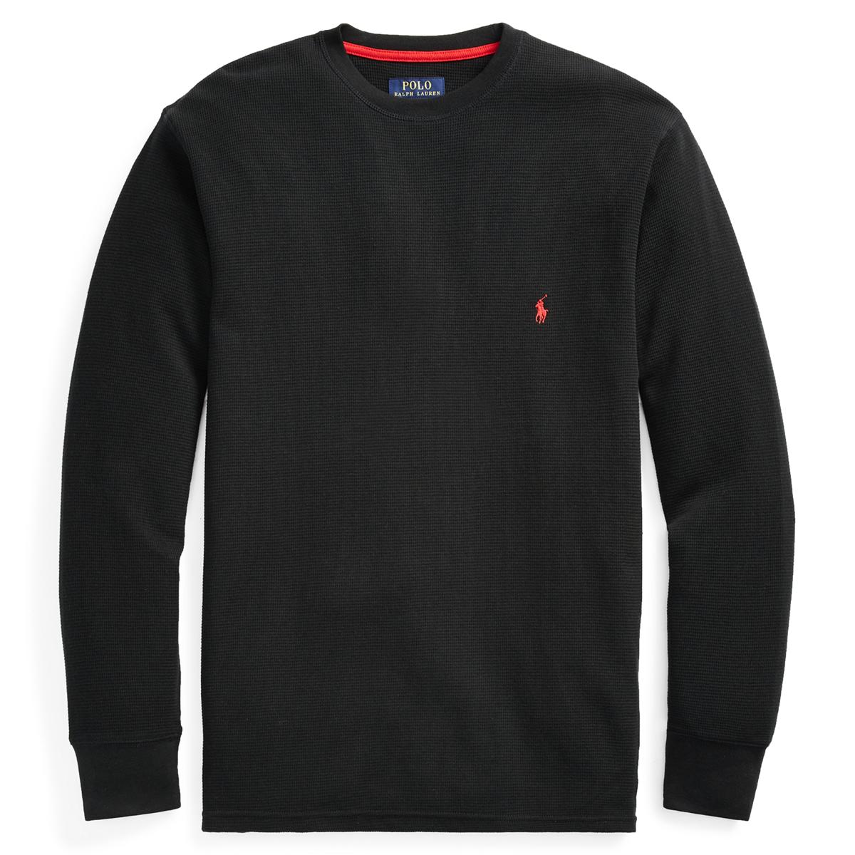 e10de211 Waffle-Knit Crewneck Thermal | Sleepwear & Robes Underwear & Loungewear | Ralph  Lauren
