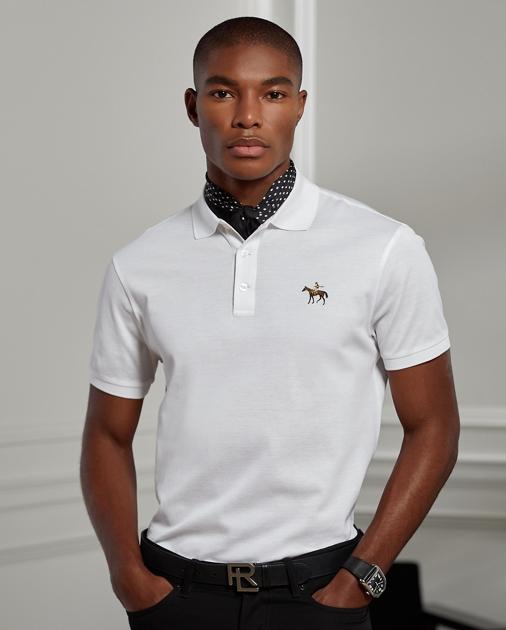 Custom Fit Piqué Polo Shirt | Custom Slim Polo Shirts