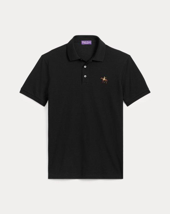 Piqué-Polo im Custom-Slim-Fit