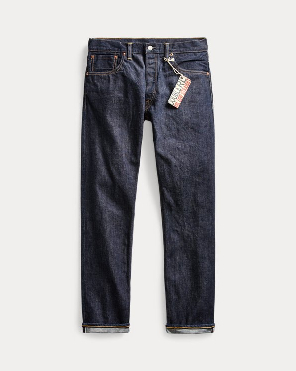 Low Straight Selvedge Jean