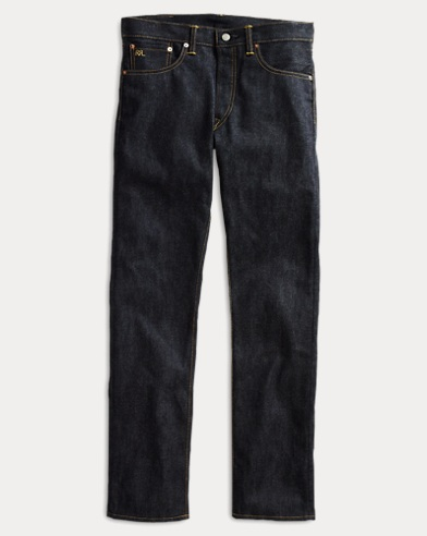 Slim Fit Rigid Selvedge Jean