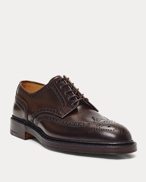 a33316fcdc181 Men's Marlow Cordovan Wingtip Dress Shoes | Ralph Lauren