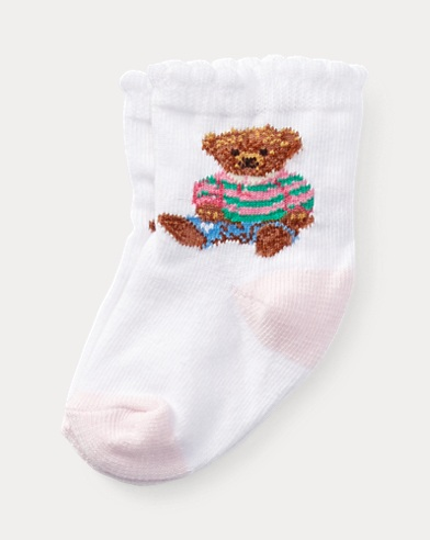 Teddy Bear Crew Sock