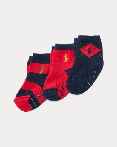 Argyle Rugby Sock 3-Pack