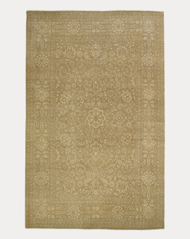 Harper Tonal Cream Wool Rug