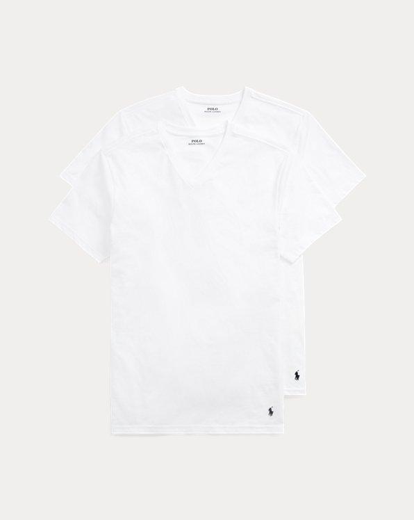 Cotton V-Neck T-Shirt 2-Pack