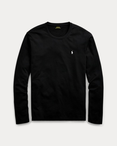 Long-Sleeved Jersey Crewneck