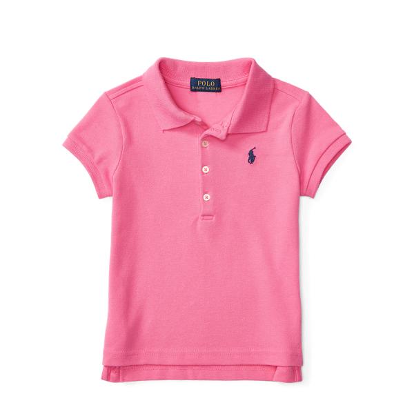 Ralph Lauren Short Sleeve Polo Maui Pink 6