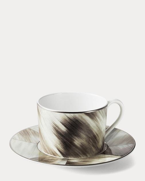 Gwyneth Horn Cup & Saucer