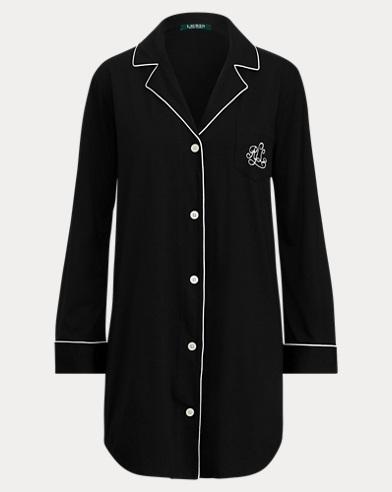 Cotton-Blend Jersey His Shirt