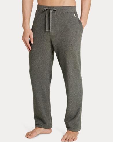 Waffle-Knit Cotton Pajama Pant