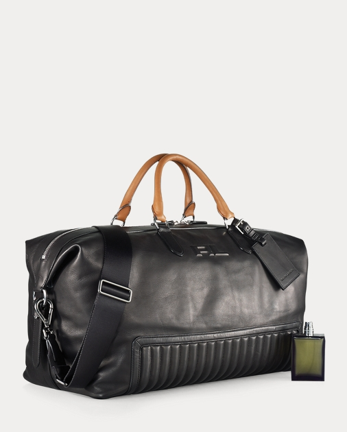 5e30a4713aef Ralph Lauren Quilted Leather Duffel Bag 4