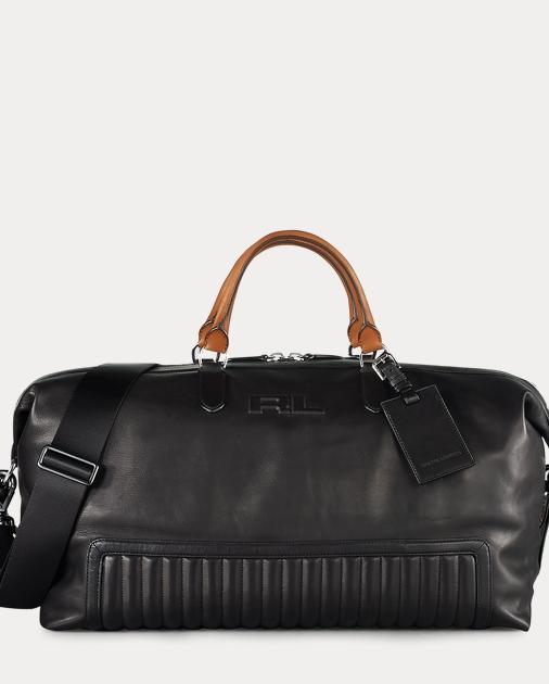 171a61144e60 Ralph Lauren Quilted Leather Duffel Bag 1