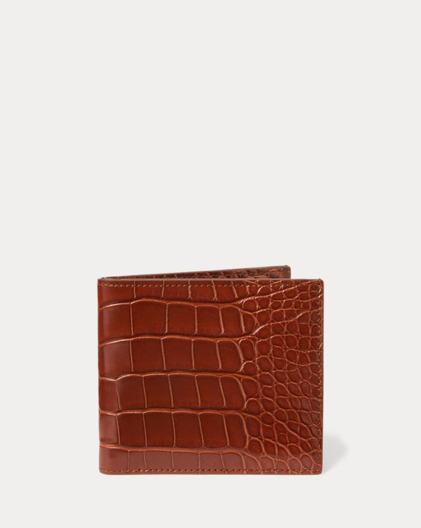 Polo Ralph Lauren Alligator Hipster Wallet