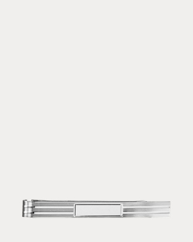 Large Engine-Turned Tie Bar
