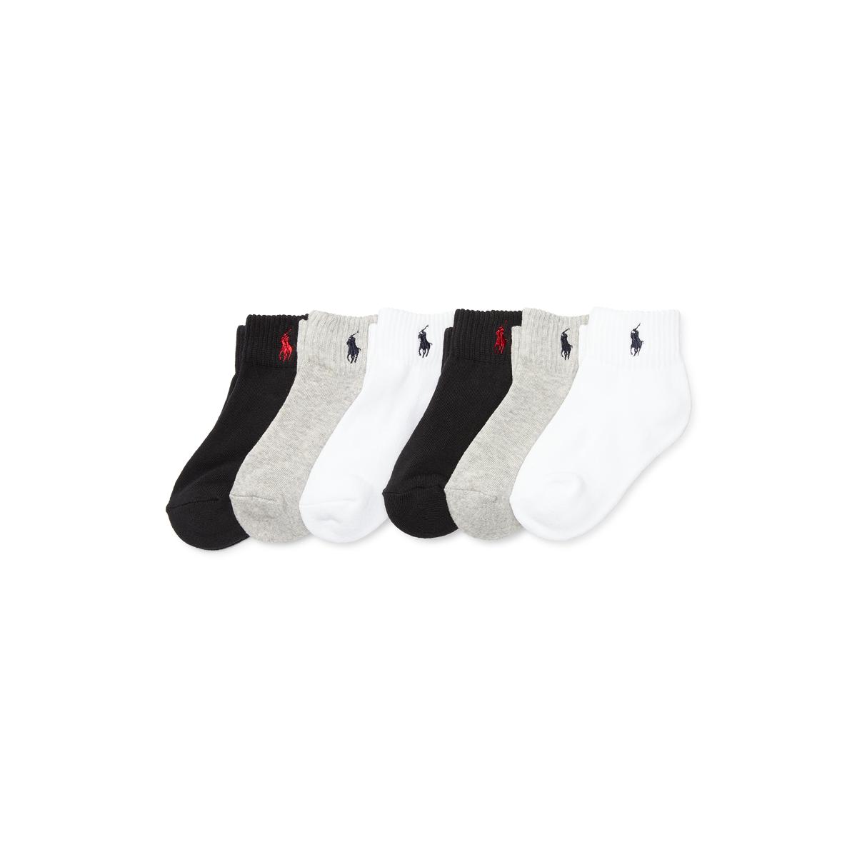 Quarter-Length-Sock 6-Pack