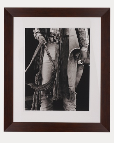 Cowboy Holding Rope