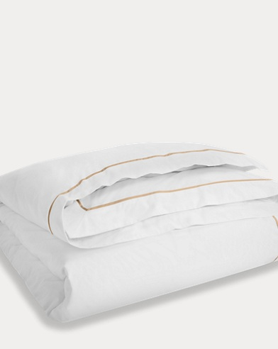 Palmer Tan Piping Duvet