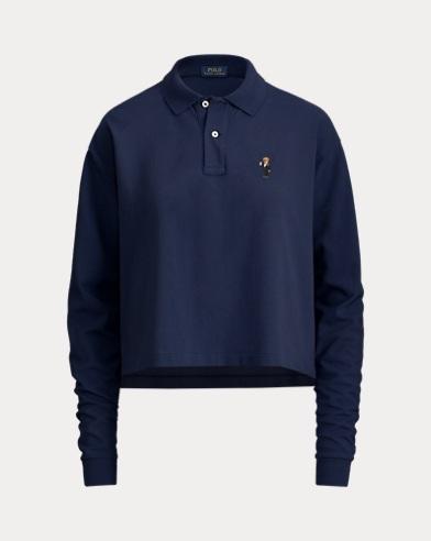 Women's Bear Polo Shirt