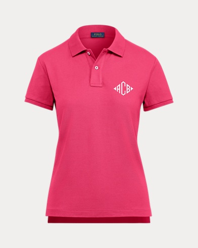 Women's Big Pony Polo Shirt