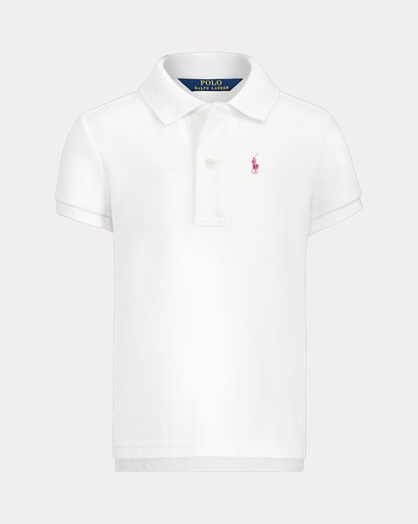 Girl's Big Pony Polo Shirt
