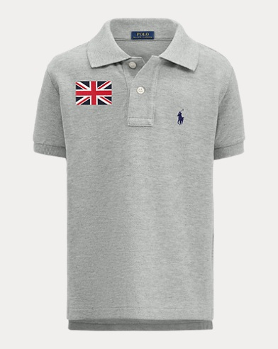 Boy's Flag Polo Shirt