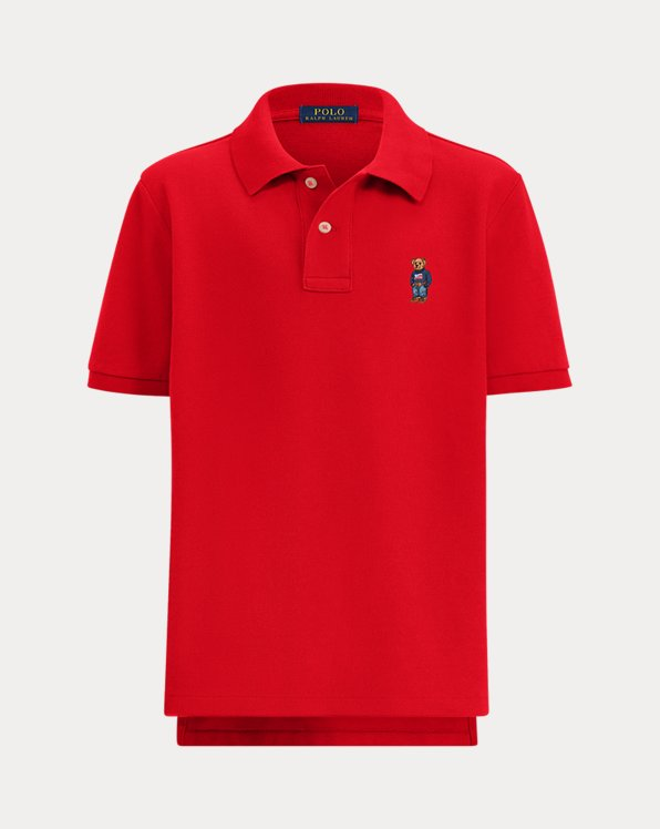 Boy's Bear Polo Shirt