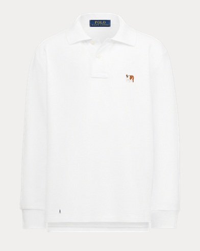 Boy's Dog Polo Shirt