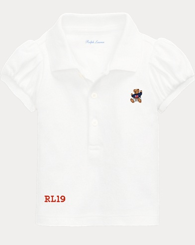 Baby Boy Bear Polo Shirt