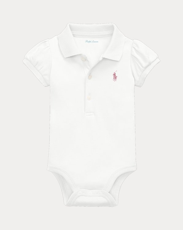 Baby Boy Cotton Mesh Bodysuit