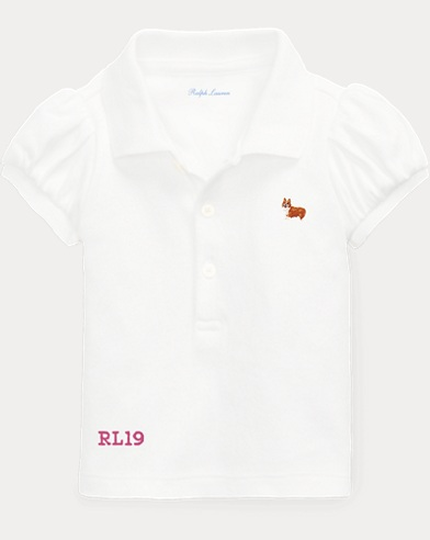 Baby Girl Dog Polo Shirt