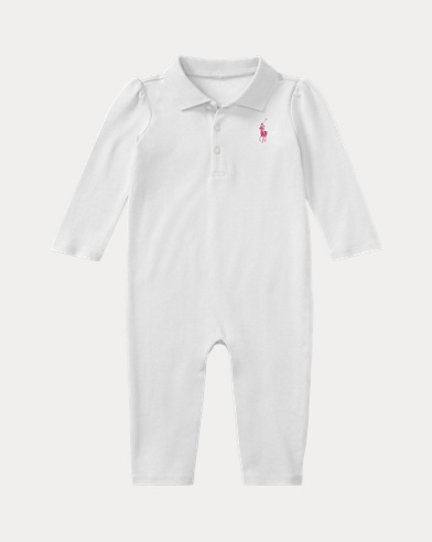 Baby Boy Pony Polo Shirt