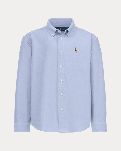 Boy's Bear Oxford Shirt