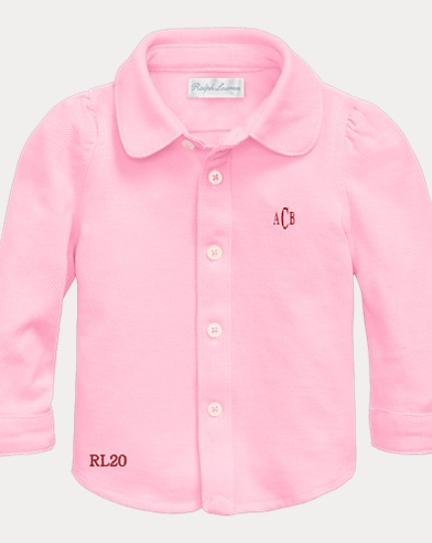 Baby Girl Oxford Shirt
